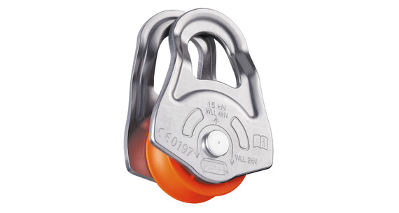 Petzl Oscillante Sejlruller grå/orange